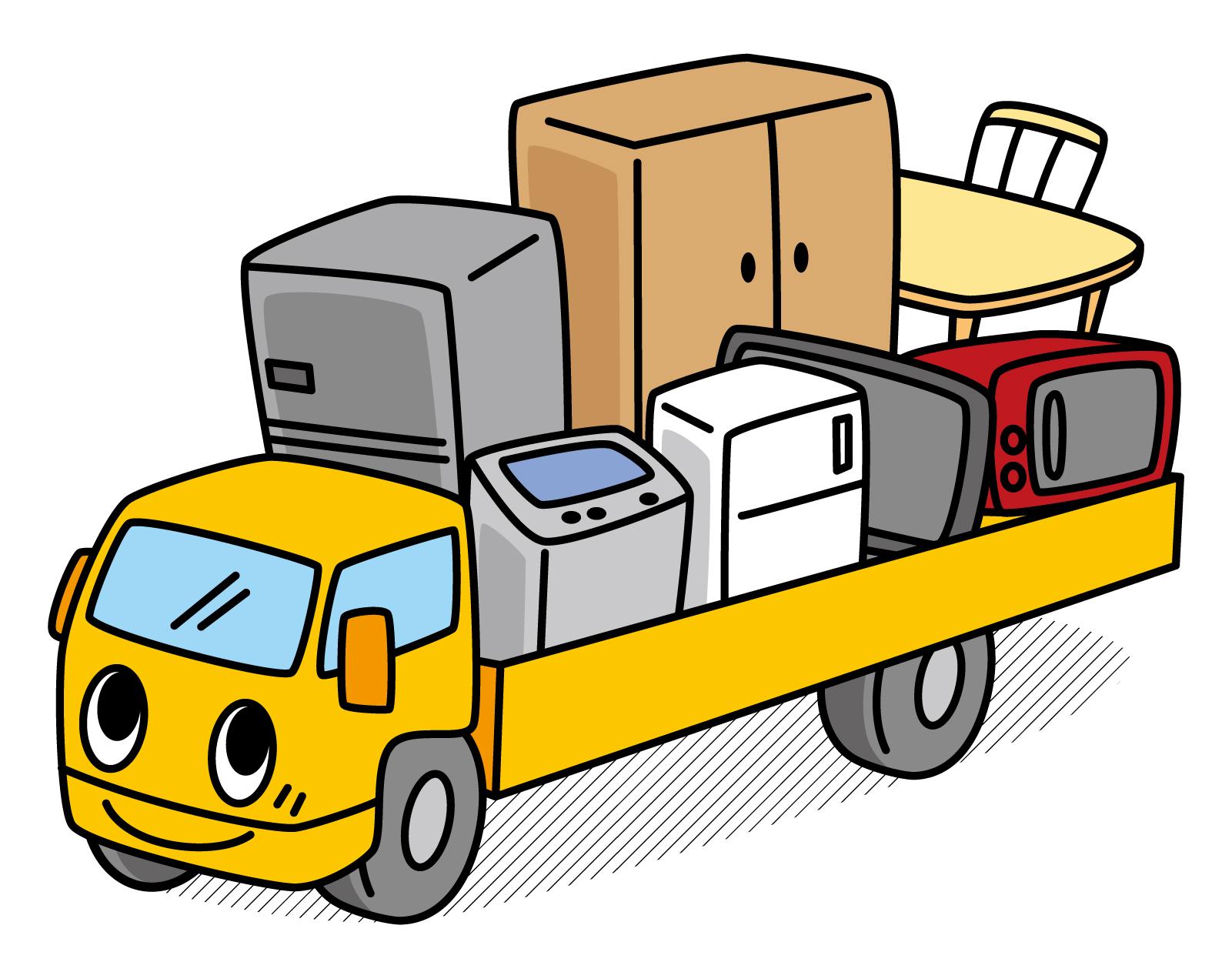 引っ越しの粗大ごみ処分エアコン・冷蔵庫と家具は別!?費用節約には?