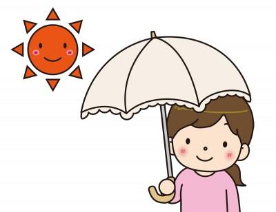 日焼け予防 日傘
