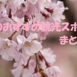春のおすすめ 観光スポットまとめ